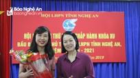 Hội LHPN tỉnh Nghệ An bầu bổ sung Chủ tịch Hội nhiệm kỳ 2016 - 2021