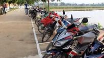 Nét đẹp 'văn hóa giao thông' trước cổng trường ở Nghệ An