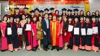 Lễ bế giảng và trao bằng tốt nghiệp lớp đào tạo theo chương trình chuyển giao từ Australia
