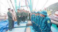 Bộ Chỉ huy quân sự tỉnh kiểm tra công tác giao nhận quân tại 3 địa phương vùng biển
