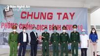 Trưởng Ban Tổ chức Tỉnh ủy thăm, động viên lực lượng làm nhiệm vụ phòng, chống dịch Covid-19