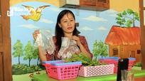 Giáo viên mầm non rẻo cao Nghệ An làm clip hướng dẫn trẻ rèn luyện kỹ năng tại nhà