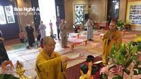 Trang nghiêm lễ khai kinh, tắm Phật tại chùa Đại Tuệ nhân ngày Đản sinh