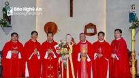 Giáo phận Vinh tổ chức thánh lễ 60 năm thụ phong Linh mục của Đức Giám mục Cao Đình Thuyên