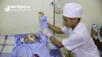 Những phương pháp phục hồi sau tổn thương não ở Bệnh viện PHCN Nghệ An