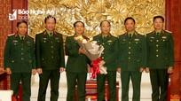 Trao quyết định bổ nhiệm Phó Tư lệnh Quân khu 4