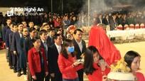 Lễ tưởng niệm 963 năm ngày mất của Uy Minh Vương  Lý Nhật Quang