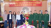 Báo Nghệ An chúc mừng BĐBP tỉnh nhân ngày truyền thống