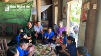 Ấm áp 'Bữa cơm tri ân' các gia đình chính sách