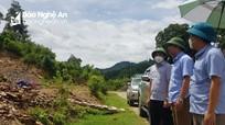Rà soát lại các điểm có nguy cơ sạt lở, lũ quét trên địa bàn huyện Tương Dương