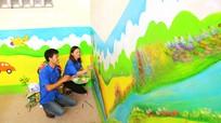 Thông điệp từ bức tường bích họa ở một ngôi trường