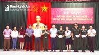 Nghệ An: Trao chứng chỉ học tiếng Lào cho 72 học viên