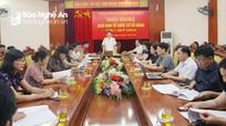Đảng ủy Khối CCQ tỉnh: Kiên quyết đưa những người không đủ tư cách ra khỏi Đảng