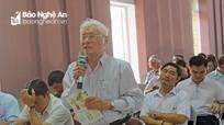 Cử tri thị xã Cửa Lò đề nghị tiếp tục đẩy mạnh công tác kiểm tra, giám sát và kỷ luật của Đảng