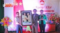 Phó Chủ tịch HĐND tỉnh chung vui Ngày hội Đại đoàn kết tại thị xã Thái Hòa