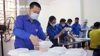 Nghệ An thành lập nhiều đội tình nguyện trẻ hỗ trợ các cơ sở cách ly tập trung