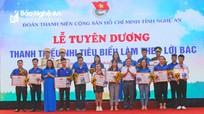 Nghệ An tuyên dương 26 thanh niên và cán bộ đoàn tiêu biểu năm 2020