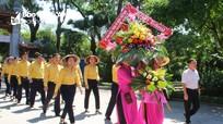 Ủy ban Mặt trận Tổ quốc tỉnh Nghệ An dâng hoa, dâng hương báo công với Bác