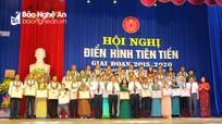Thành phố Vinh tuyên dương 16 tập thể, 29 cá nhân điển hình tiên tiến giai đoạn 2015 - 2020