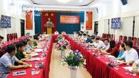 Tập trung tham mưu chỉ đạo, hướng dẫn đại hội Đảng các cấp tiến tới đại hội XIII của Đảng