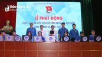 Phát động cuộc thi tìm hiểu 'Lịch sử tỉnh Nghệ An 990 năm hình thành và phát triển'