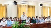 Lắng nghe tiếng nói người có uy tín trong đồng bào dân tộc thiểu số Nghệ An