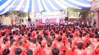 Hàng nghìn sinh viên Nghệ An tham gia chương trình tuyên truyền về giới tính và sức khỏe sinh sản