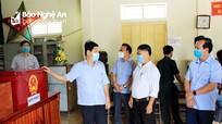 Chủ tịch HĐND tỉnh kiểm tra công tác chuẩn bị bầu cử tại huyện Thanh Chương