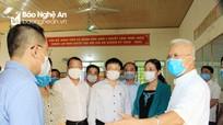 Lãnh đạo tỉnh kiểm tra công tác bầu cử tại huyện Nghi Lộc