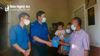 Các cấp bộ Đoàn thăm, hỗ trợ gia đình Phó Bí thư Đoàn xã bị bệnh hiểm nghèo