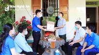 Tỉnh đoàn Nghệ An tri ân các thương bệnh binh, gia đình chính sách nhân ngày 27/7