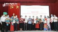 Bế mạc trao giải Hội thi Báo cáo viên giỏi Đảng ủy Khối Doanh nghiệp tỉnh Nghệ An