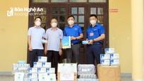 Đảng ủy Khối Doanh nghiệp tỉnh Nghệ An hỗ trợ công tác phòng, chống dịch Covid-19