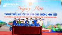Nghệ An tổ chức ngày hội 'Thanh thiếu nhi với văn hóa giao thông'