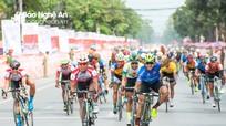TP. Vinh đón các tay đua xe đạp chặng 6 Cúp Truyền hình TP HCM