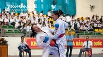 Đại hội TDTT tỉnh lần thứ VIII: Khai mạc môn Karatedo và Bóng chuyền bãi biển