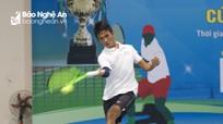 Khai mạc Giải Quần vợt vô địch tỉnh Nghệ An 2018