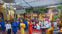 TP Vinh: Lễ giỗ Hưng Đạo Đại Vương Trần Quốc Tuấn