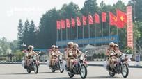 Thành phố Vinh ra quân phòng, chống tội phạm đảm bảo ANTT dịp Tết Nguyên đán