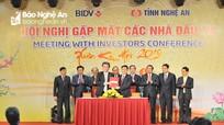 Nghệ An thu hút gần 22.000 tỷ đồng tại Hội nghị Gặp mặt các nhà đầu tư Xuân Kỷ Hợi