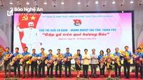 Tuổi trẻ khối cơ quan - doanh nghiệp 12 tỉnh, thành phố gặp gỡ trên quê hương Bác