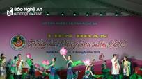 Gần 300 diễn viên tham gia Liên hoan tiếng hát Làng Sen 2019