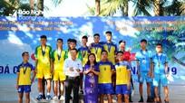 Đoàn Nghệ An xếp thứ Nhì giải Vô địch đá cầu bãi biển toàn quốc năm 2019