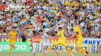 Cầu thủ Cúp Báo Nghệ An cuồng nhiệt cùng trận cầu SLNA - HAGL