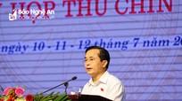Phó Chủ tịch UBND tỉnh Lê Ngọc Hoa: Tiếp thu, giải quyết và trả lời đầy đủ kiến nghị của cử tri