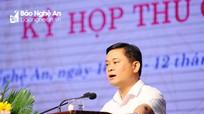 Chủ tịch UBND tỉnh: Quyết tâm chỉ đạo, điều hành đạt tốc độ tăng trưởng cả năm