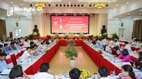 Nghệ An tổ chức Hội thảo khoa học 50 năm thực hiện Di chúc thiêng liêng của Bác Hồ