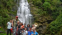 Đoàn báo chí quốc tế đến từ 8 quốc gia khảo sát du lịch tại Nghệ An