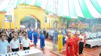 Trang trọng lễ kỷ niệm 719 năm ngày mất của Hưng Đạo Đại Vương ở Nghệ An