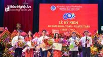 Kỷ niệm 60 năm xây dựng và phát triển Khoa Toán - Ngành Toán Đại học Vinh